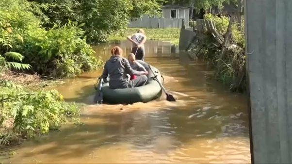 Ρωσία: Νεκροί και αγνοούμενοι από τις φονικές πλημμύρες