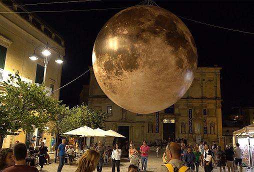 Matera, capital europeia da cultura, comemora os 50 anos da ida à lua