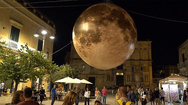 50 years after the moon landing Matera celebrates its connections with the Apollo 11 mission