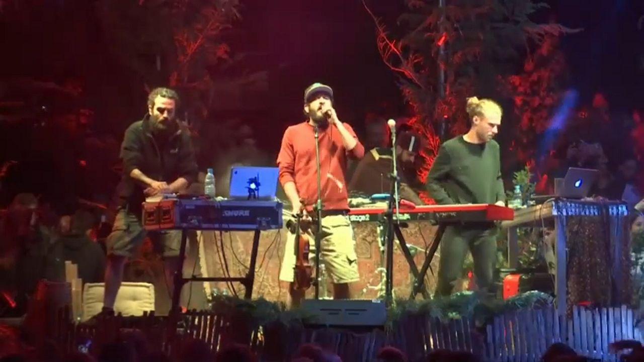 Shkoon, a banda que funde folclore árabe e música eletrónica europeia