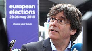 Puigdemont y Comín no podrán ser eurodiputados