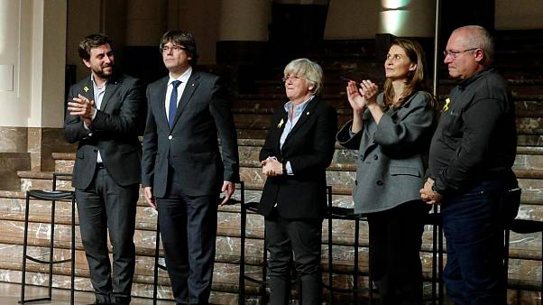 Carles Puigdemont contro il divieto di accesso all'europarlamento