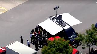 Hazmat crews respond to package 'possibly containing sarin' sent to Facebook HQ