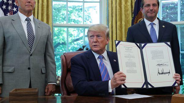 Trump firma 4.600 millones para la frontera y anuncia redadas masivas