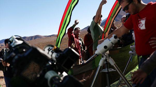 Conditions idéales pour l'éclipse totale de soleil au-dessus du Chili