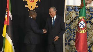Presidente Filipe Nyusi inicia visita de Estado a Portugal