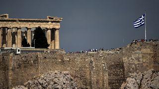 صورة من العاصمة اليونانية أثينا