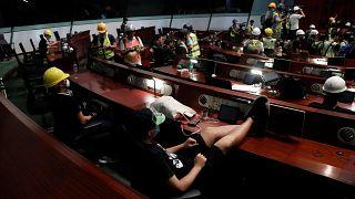 Çin'den Hong Kong protestolarına kınama: Bu gizli bir başkaldırı