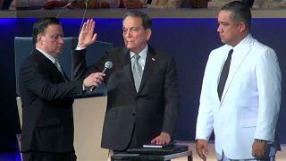 Cortizo asume la Presidencia de Panamá clamando contra la corrupción y la desigualdad