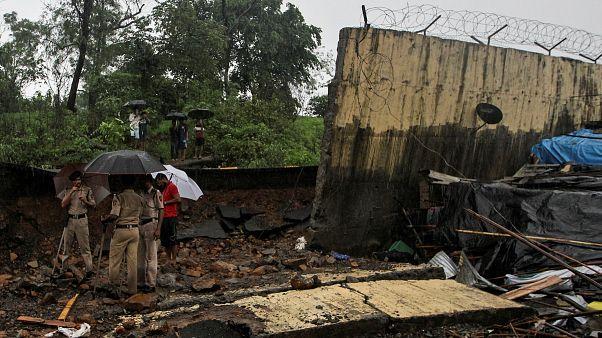 Hindistan'da muson yağmurları: 27 kişi hayatını kaybetti