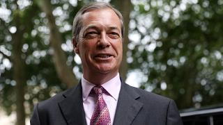 Farage tells Euronews he won't show respect for foreign anthems 'forced upon us'