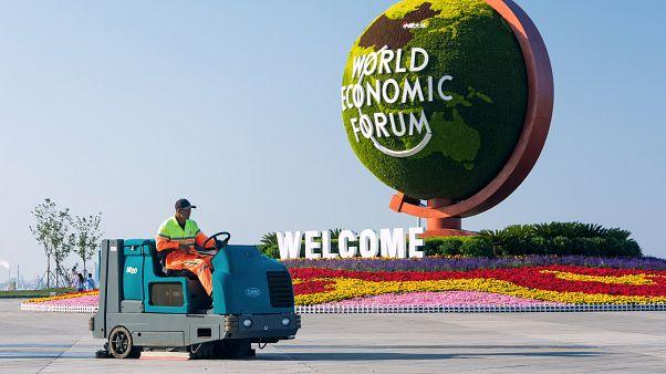 Tensão comercial marca Fórum Económico Mundial