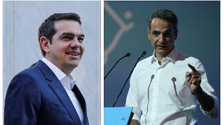 Législatives en Grèce : la droite de Mitsotakis devrait sortir Tsipras