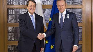 Τουσκ προς Αναστασιάδη: Στη Σύνοδο Κορυφής οι τουρκικές προκλήσεις στην κυπριακή ΑΟΖ
