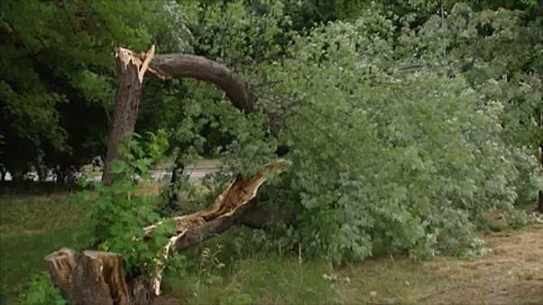 Komoly viharkárok Lengyelországban
