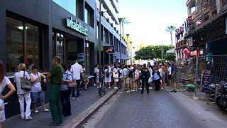Evacúan a más de 600 personas por un incendio en un hotel de Mallorca