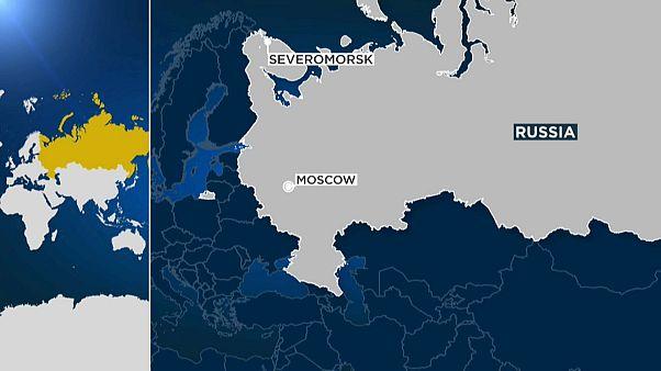 Fatal incendio en un submarino ruso