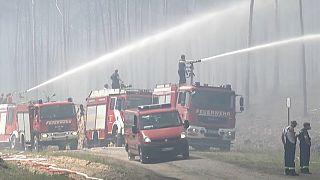 Incendio de alto riesgo en Alemania