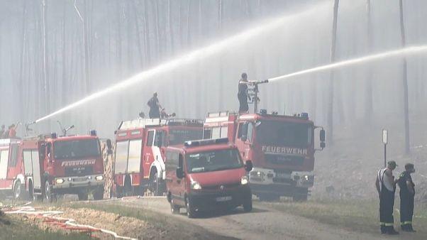 Пожар на полигоне
