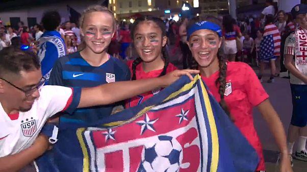 Wieder im WM-Endspiel: US-Fußballerinnen im Jubeltaumel