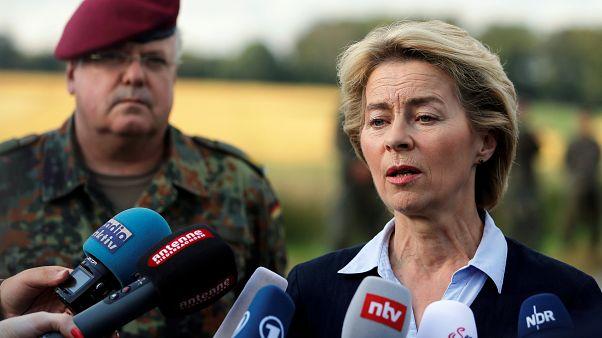 La ministra de Defensa alemana, Ursula von der Leyen