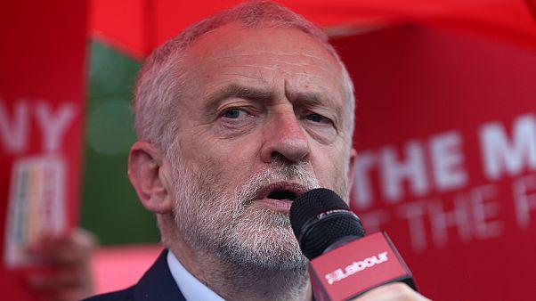 رئيس حزب العمّال البريطاني جيرمي كوربن