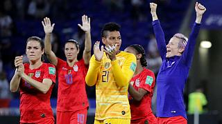 آمریکا با شکست انگلستان به فینال جام جهانی فوتبال زنان راه یافت