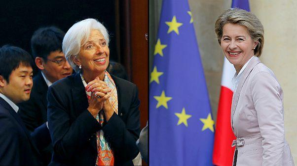 Christine Lagarde e Ursula von der Leyen apontadas aos tronos da Europa