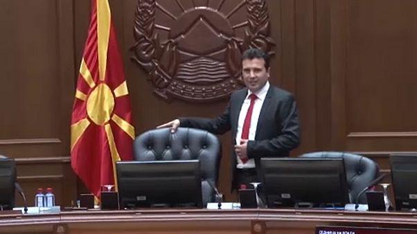 """Il primo ministro Zaev: """"Meritiamo i negoziati UE"""""""