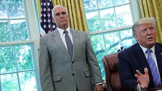 """ABD Başkan Yardımcısı Mike Pence son anda seyahatini iptal etti, Beyaz Saray """"acil durum"""" yok dedi"""