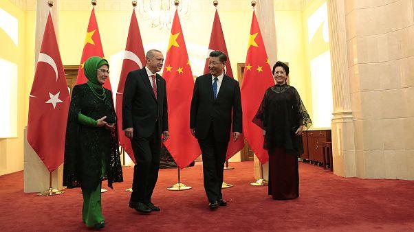 Çin devlet televizyonu: Erdoğan, 'Sincanlılar refah içinde mutlu' dedi