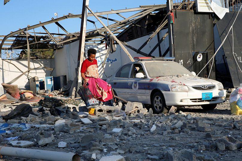 Tripoli, Libya July 3, 2019. REUTERS/Ismail Zitouny