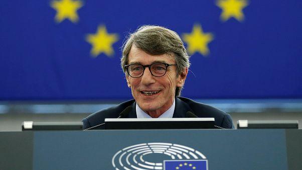 A la tête du parlement européen, Sassoli veut faire évoluer l'UE