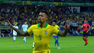 Brasil vence Argentina e está na final da Copa América