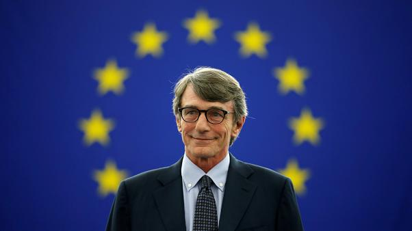 Who is newly elected European Parliament president David-Maria Sassoli?