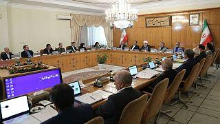 حسن روحانی در نشست هیئت دولت