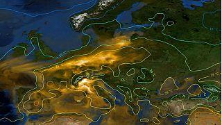 موج گرما چگونه آلودگی هوا در اروپا را افزایش داد؟