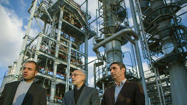 سفر رئیس سازمان انرژی اتمی ایران به اراک، عکس خبرگزاری ایرنا