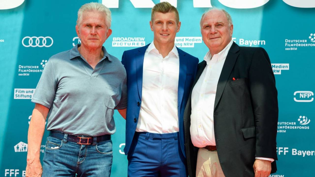Toni Kroos de estrela do futebol a estrela de cinema