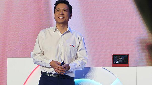 روبين لي الرئيس التنفيذي لشركة بايدو الصينية