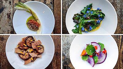 Photos of food at Silo Brighton