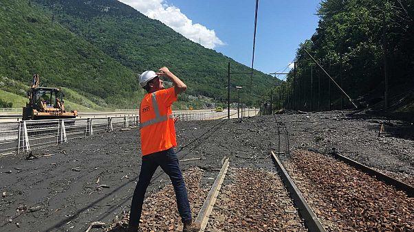 La ligne TGV Paris-Milan coupée à cause des intempéries