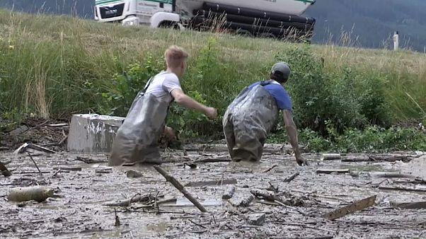 Autriche : coulées de boue dans le Tyrol