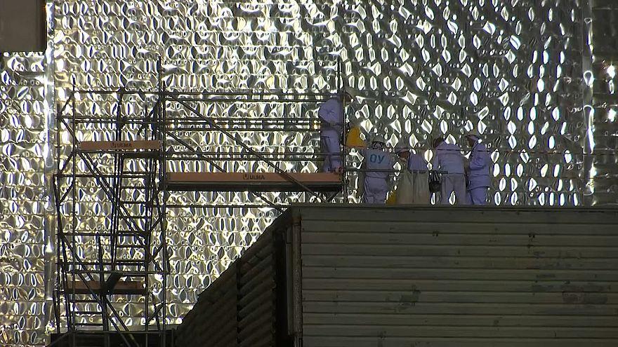 Показан новый саркофаг Чернобыльской АЭС