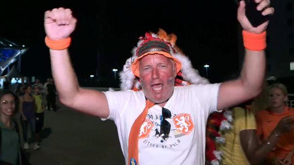 Mondiali femminili, festa arancione a Lione