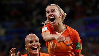 Les Néerlandaises en finale de la Coupe du monde de football!