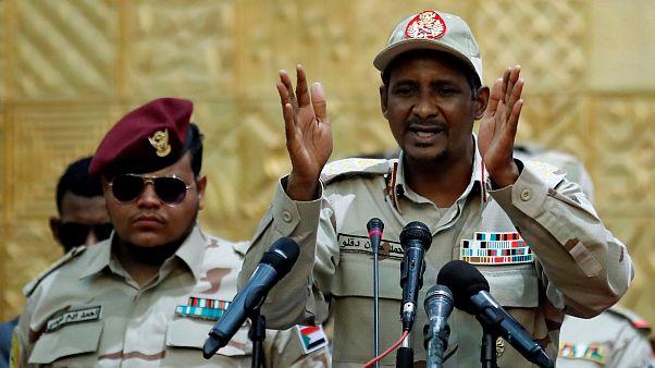 اللواء محمد حمدان دقلو نائب رئيس المجلس العسكري السوداني