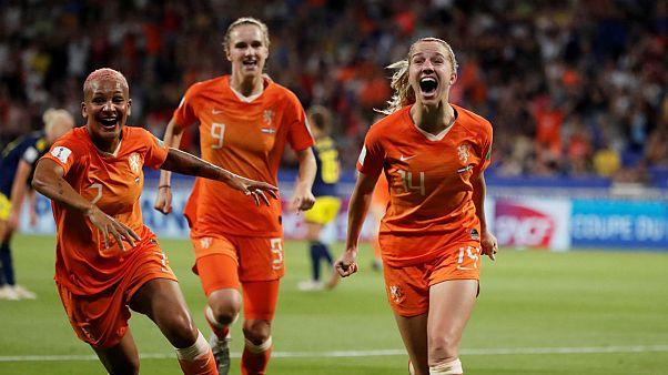 بعد از آمریکا، هلند هم به فینال جام جهانی فوتبال زنان راه یافت