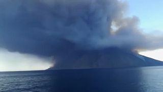Извержение Стромболи: пострадали туристы