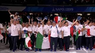 Napoli 2019, Mattarella dà il via ai giochi olimpici universitari